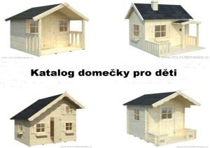 KATALOG dětské zahradní domky, dřevěné domečky truhlář Václav HOLOUBEK