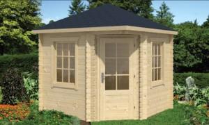 DANIEL Zahradní domek jako stavebnice pro stavbu svépomocí