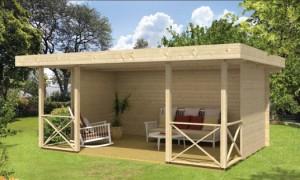 KONSTANTIN  Zahradní domek jako stavebnice pro stavbu svépomocí