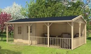 RAGNA  Zahradní domek jako stavebnice pro stavbu svépomocí